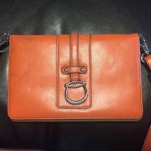 [Etienne Aigner] crossbody bag purse orange wallet
